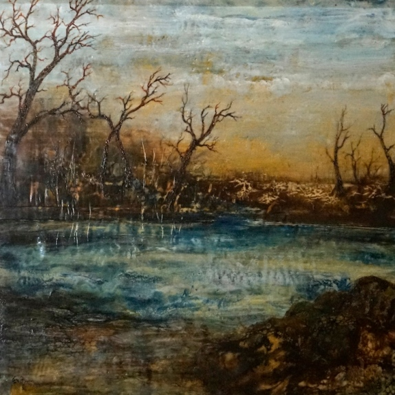 after-the-fires-60x60cm-encaustic-evelyn-antonysen-2016