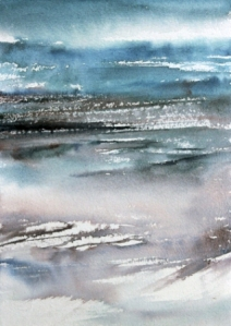 watercolour on Burnie Makers paper