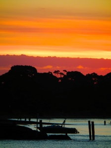 sunset at Cowes, Phillip Island