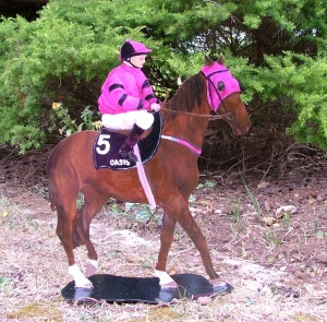 The Jockey and his horse