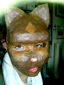 paper mach mask