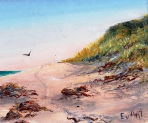 Tarkine Coast Oil Miniature