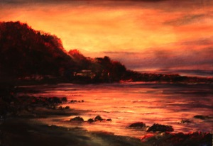 Chasm Creek Sunset