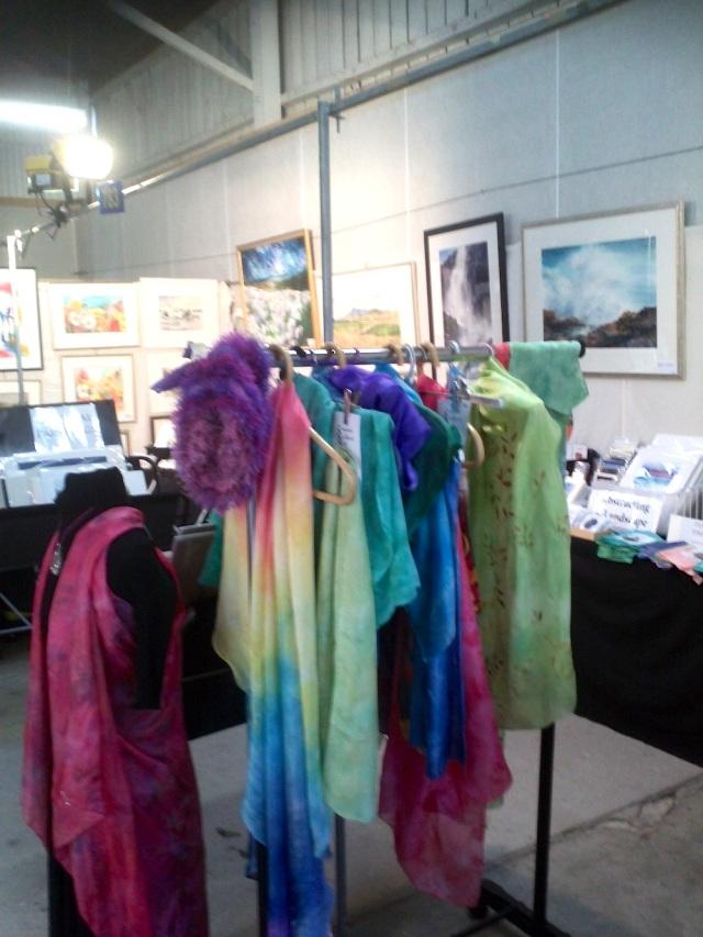Silk shawls by Evantart