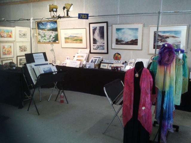 7.6 m stall … painting allsorts
