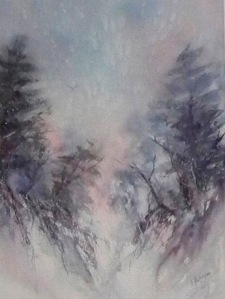 A Touch of Snow,  SOLD