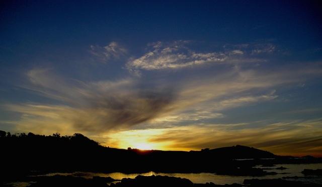 Last light, West Ulverstone, Tasmania