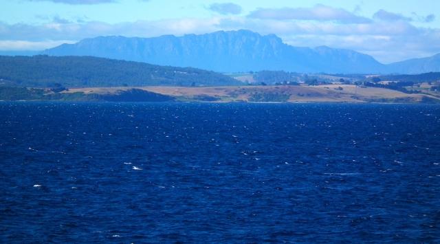 leaving Devonport on the Spirit of Tasmania
