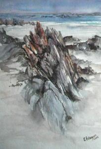 Nelson Bay watercolour