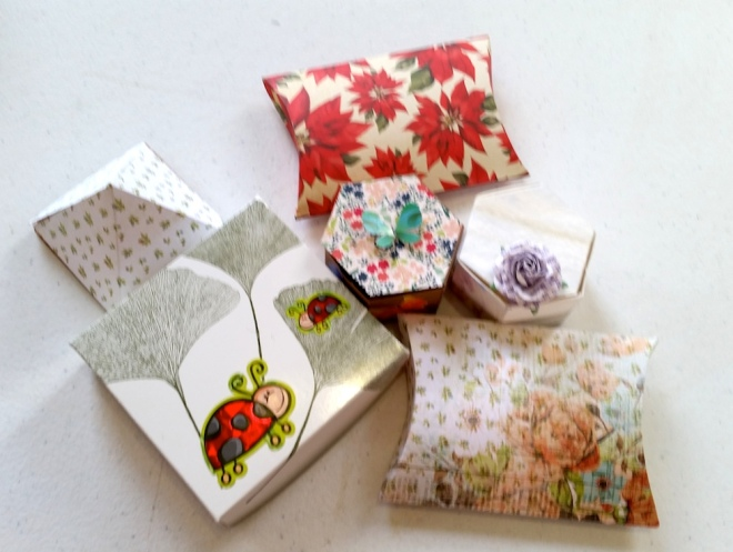 Nita's lovely collection from the 3 hour workshop