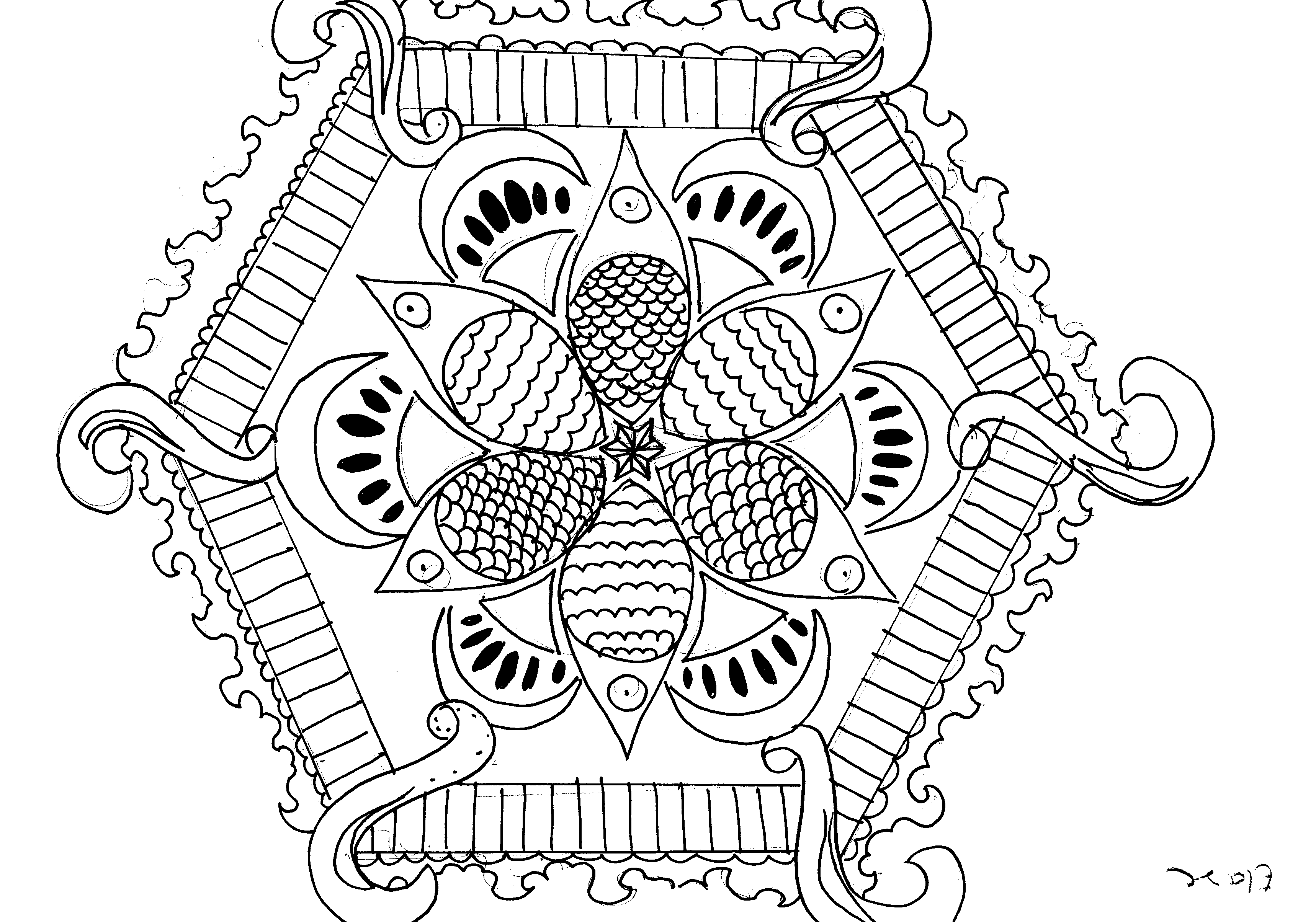 colouring pages « EvAntArt