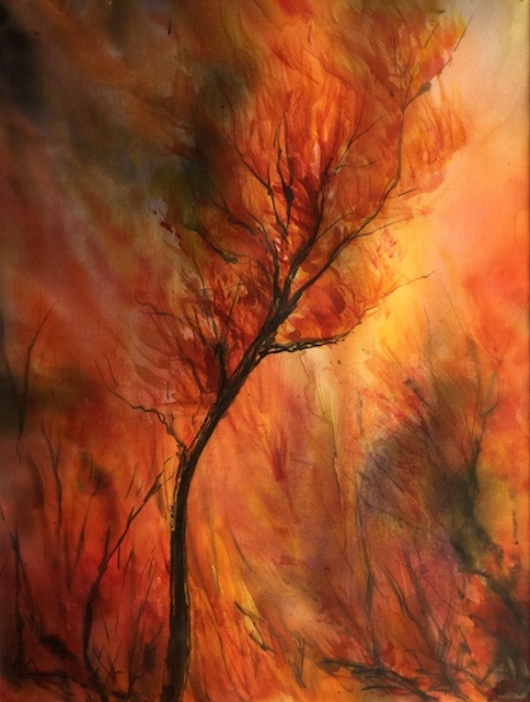tarkine-inferno-silk-painting
