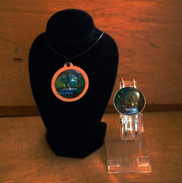 Wearable art Rainforest