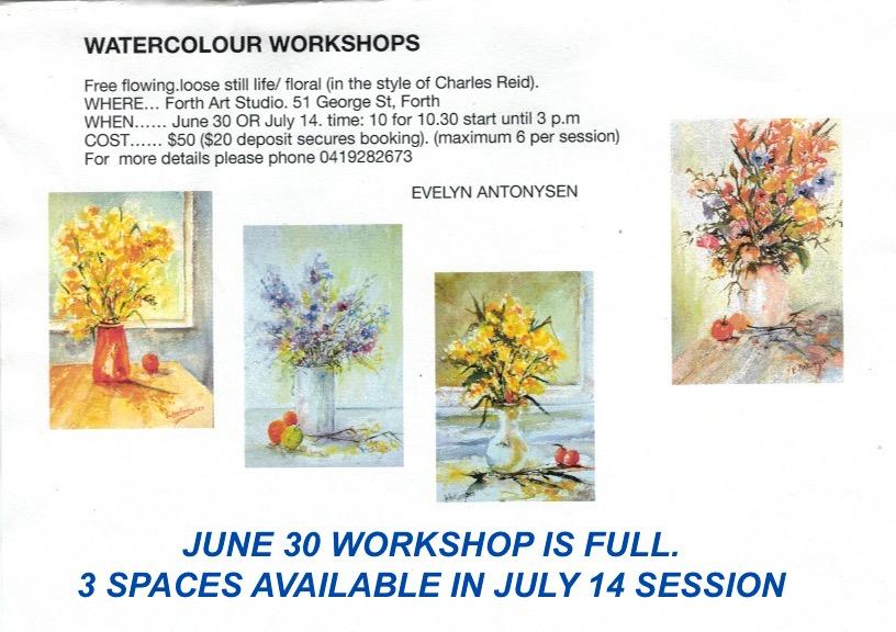 Charles Reid floral style workshop